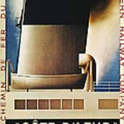 Steamship Travel Poster Art Print by Granger