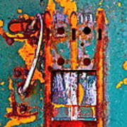 Steel Abstraction Art Print