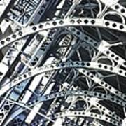 Steel Arches Art Print