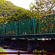 Steel Bridge Art Print