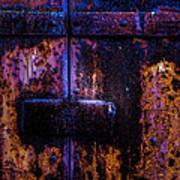 Steel Door Number Three Art Print
