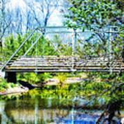 Steel Span Bridge Gettysburg Art Print