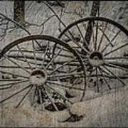 Steel Wheels Art Print