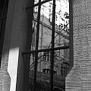 Steel Window Art Print