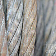 Steel Wire Art Print