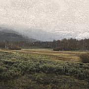 Steens Mountain Landscape - No. 2 Art Print