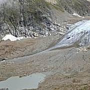 Stein Glacier, Switzerland Art Print