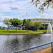 Steinbrenner Field Lake 2 Art Print