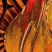 Steinway Piano Golden Inners Art Print