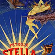 Stella Petrol Art Print