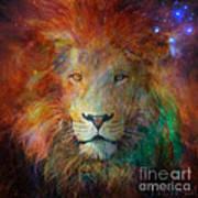 Stellar Lion Art Print