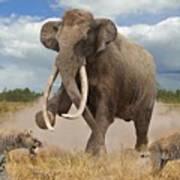 Steppe Mammoth Art Print