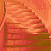 Steps Art Print by Wendy J St Christopher