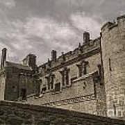 Sterling Castle Scotland Sterling Closed Grey Art Print