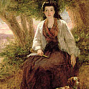 Sternes Maria, From A Sentimental Print by William Powell Frith