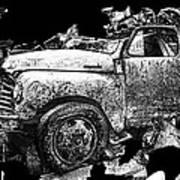 Steudebaker Truck Art Print