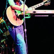Steve Howe Of Yes 1980 Drama Tour Art Print