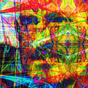 Steve Jobs Ghost In The Machine 20130618 Long Art Print by Wingsdomain Art and Photography