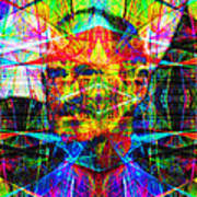 Steve Jobs Ghost In The Machine 20130618 Square Art Print