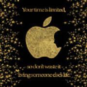 Steve Jobs Quote Original Digital Artwork Art Print