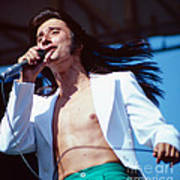 Steve Perry Of Journey At Day On The Green Art Print