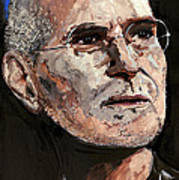 Steven Paul Jobs Art Print