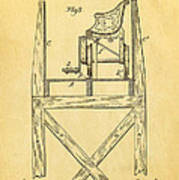 Stevens Roller Coaster Patent Art  3 1884 Print by Ian Monk