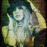 Stevie Nicks - Bohemian Art Print