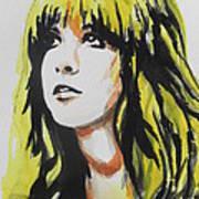 Stevie Nicks 01 Art Print