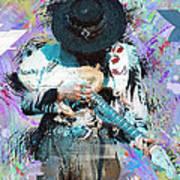 Stevie Ray Vaughan #4 Art Print