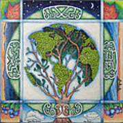 Stewardship Of The Earth Art Print by Arla Patch