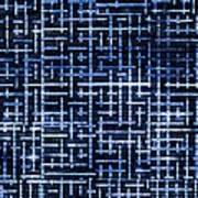 Stick Labyrinth Art Print