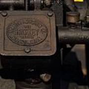Stickney Hit And Miss Engine Art Print