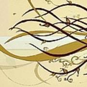 Still Branches Of Life Art Print