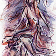 Still Dancing Art Print