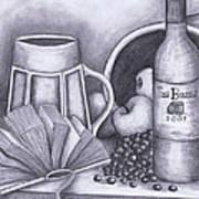 Still Life Drawing Art Print