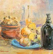 Still Life From Italy Art Print