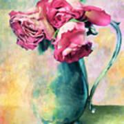 Still Life Roses Art Print