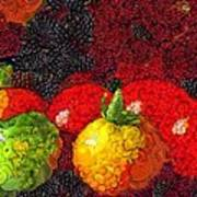 Still Life Tomatoes Fruits And Vegetables Art Print