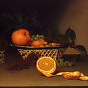 Still Life With Oranges Art Print