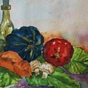 Still Life With Bottle Art Print