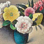 Still Life With Flowers Art Print