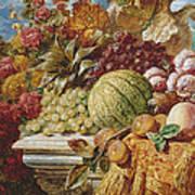 Still Life With Fruit Art Print
