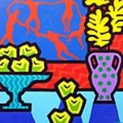 Still Life With Matisse Art Print