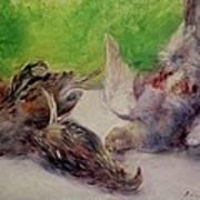 Still Life With Pheasants  Art Print