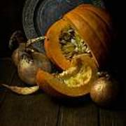 Still Life With Pumpkin Art Print
