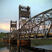 Stillwater Lift Bridge Art Print