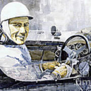 Stirling Moss Art Print by Yuriy  Shevchuk