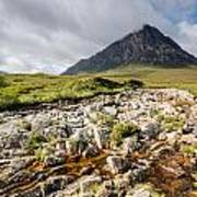 Stob Dearg Mountain Art Print