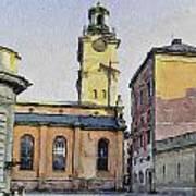 Stockholm 1 Art Print